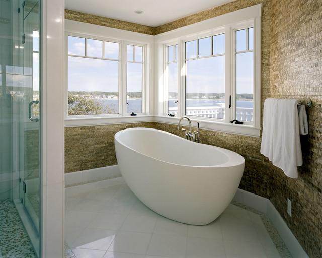 Cape Cod Renovation contemporary-bathroom