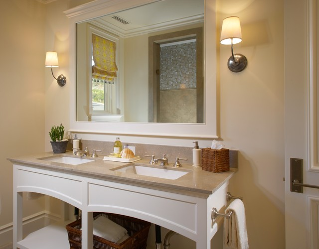 Cape cod style in dana point california for Bathroom mirrors orange county