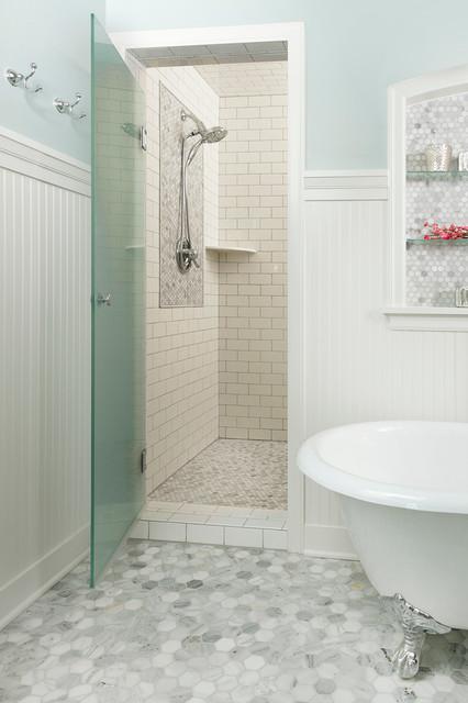 Cape Cod Whole House Renovation Traditional Bathroom