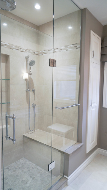 Capilano Crescent Ensuite contemporary-bathroom