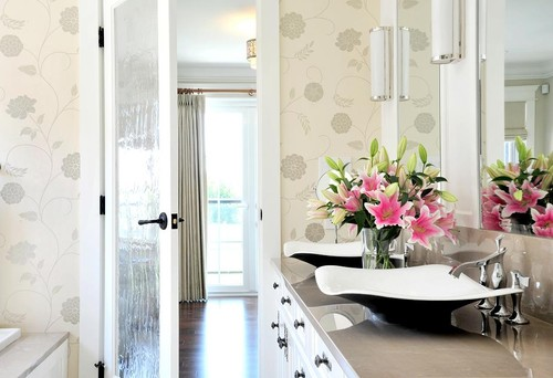 5 Ways To Beautify Your Bathroom Sharon Hines Geralin Thomas Best Plants  For Bathrooms Extra Freshness