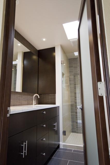 Capitol Hill Condo Bathroom Remodel modern-bathroom