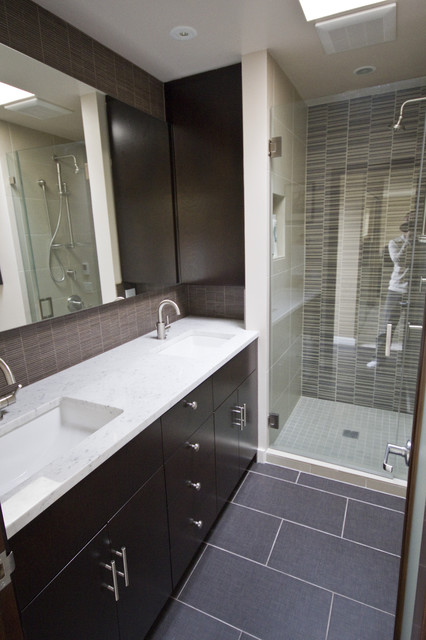 Capitol Hill Condo Bathroom Remodel Modern Bathroom