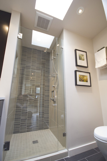 Seattle Bathroom Remodeling Capitol Hill Condo Bathroom Remodel  Modern  Bathroom  Seattle .