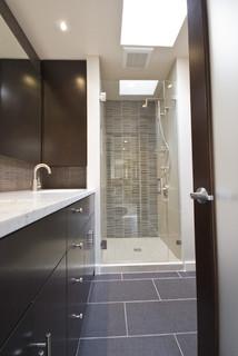 capitol hill condo bathroom remodel - modern - bathroom - seattle