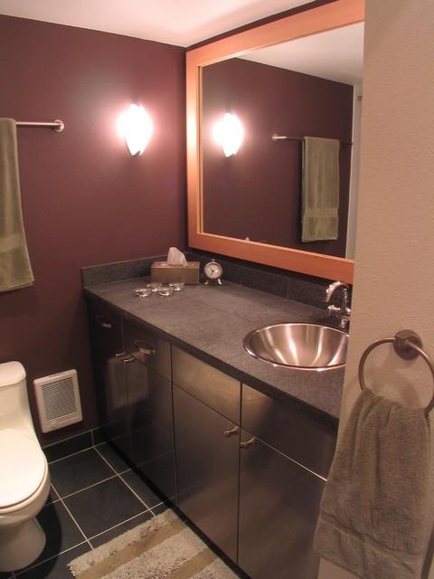 Capitol Hill Condo Remodel - Contemporary - Bathroom ...