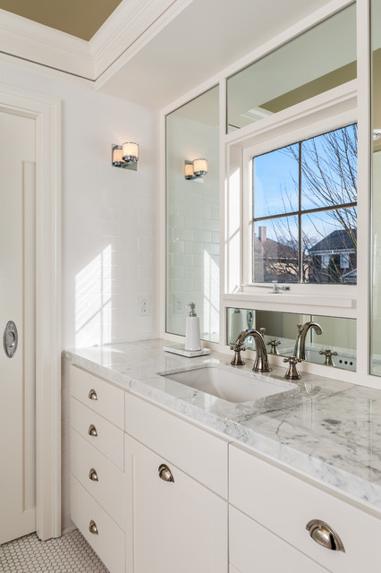 Capitol hill whole house remodel for Whole bathroom remodel
