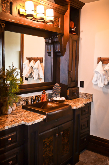 Salt Lamps Inverness : Captivating - Traditional - Bathroom - Salt Lake City - by COUNTRY CABINET