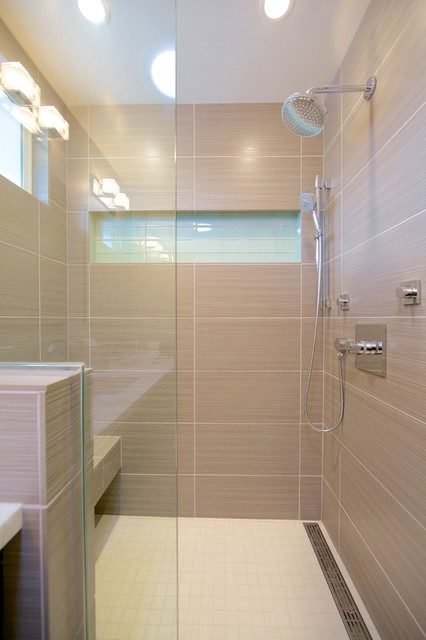 Contemporary Shower - Contemporary - Bathroom - san diego ...