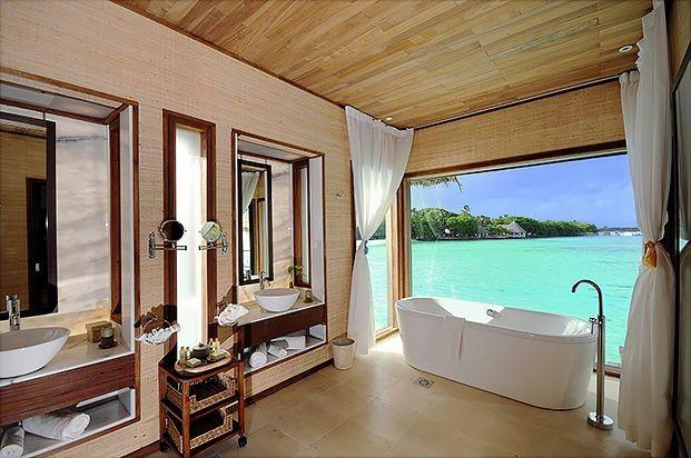 Caribbean villas for Caribbean bathroom ideas