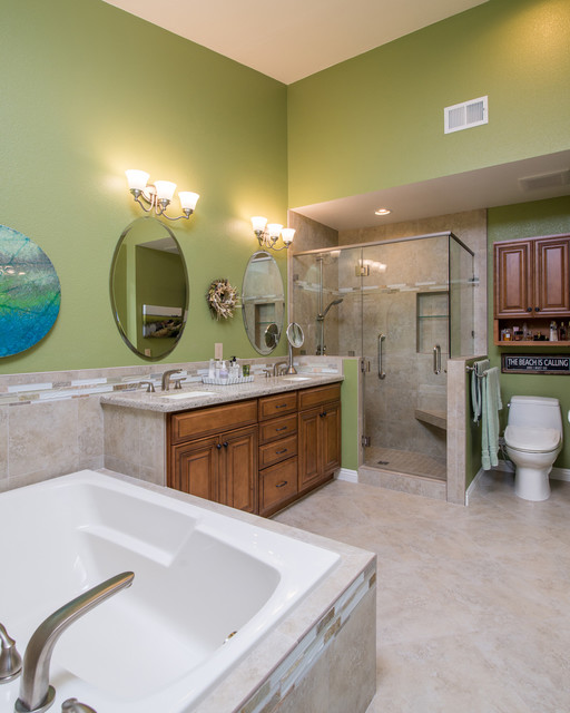 Carlsbad california bathroom remodel beach style for Bathroom remodel san diego