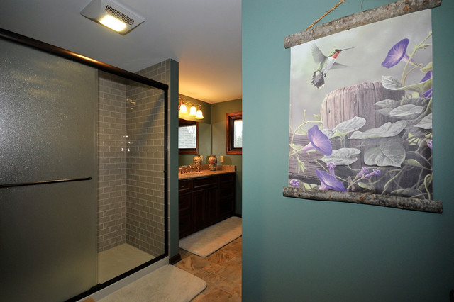 Carmel Arts and Crafts Remodel traditional-bathroom