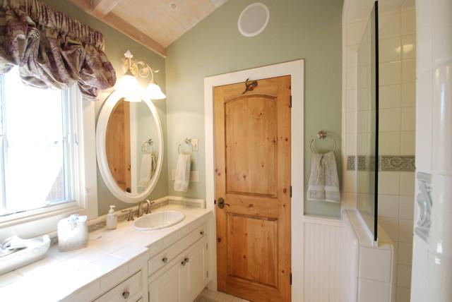 Carmel Cottage Bathrooms traditional-bathroom
