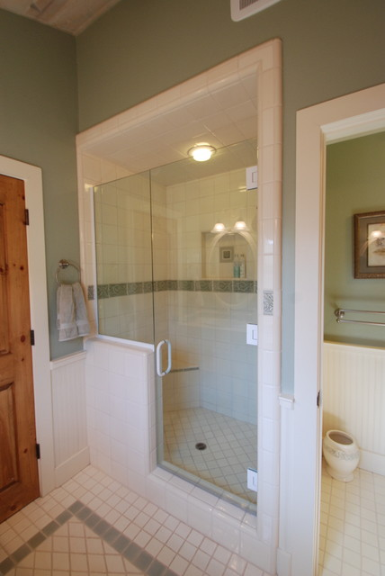 Carmel cottage bathrooms traditional bathroom san for Small bathroom design cottage