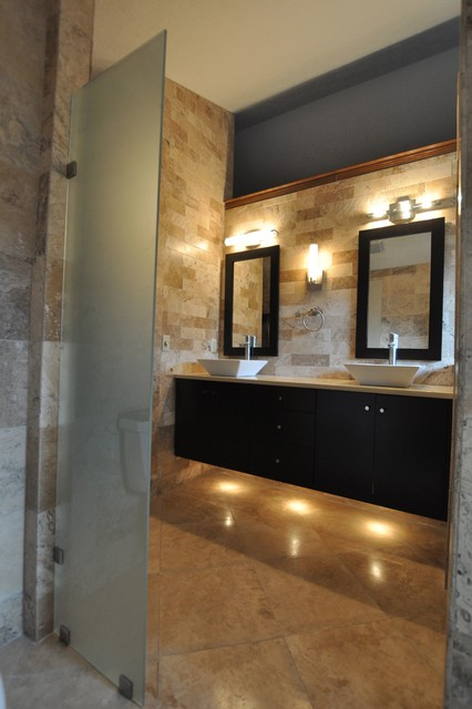 Carmel indiana bathroom and spa remodel contemporary for Bathroom remodel indianapolis