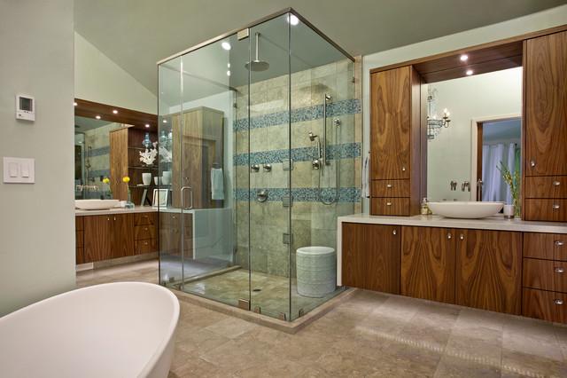 Carmichael Residence contemporary-bathroom
