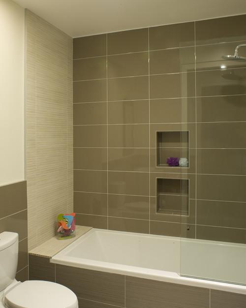 καφέ πλακάκια, μπάνιο, ιδέες,