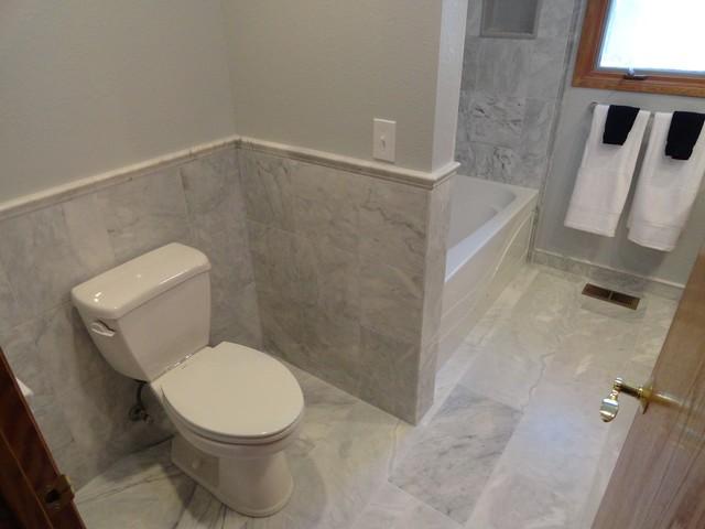 Carrara Marble Bath