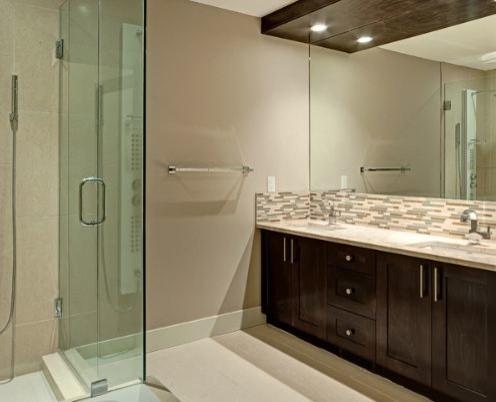 Carrara Marble Kitchen contemporary-bathroom