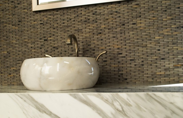 Carrara White Marble Bathroom Orange County By Stone