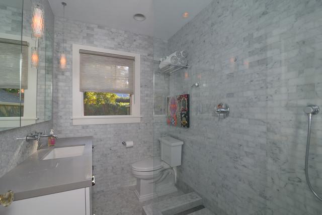 Carrera Marble Bathing Beauty Modern Bathroom Sacramento By