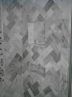 Carrera Marble Bathroom Traditional Bathroom