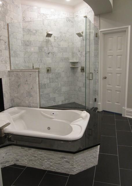 Carrera Marble Master Bath Suite