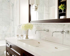 Carriage Lane Design Build /Carly Nemtean traditional bathroom