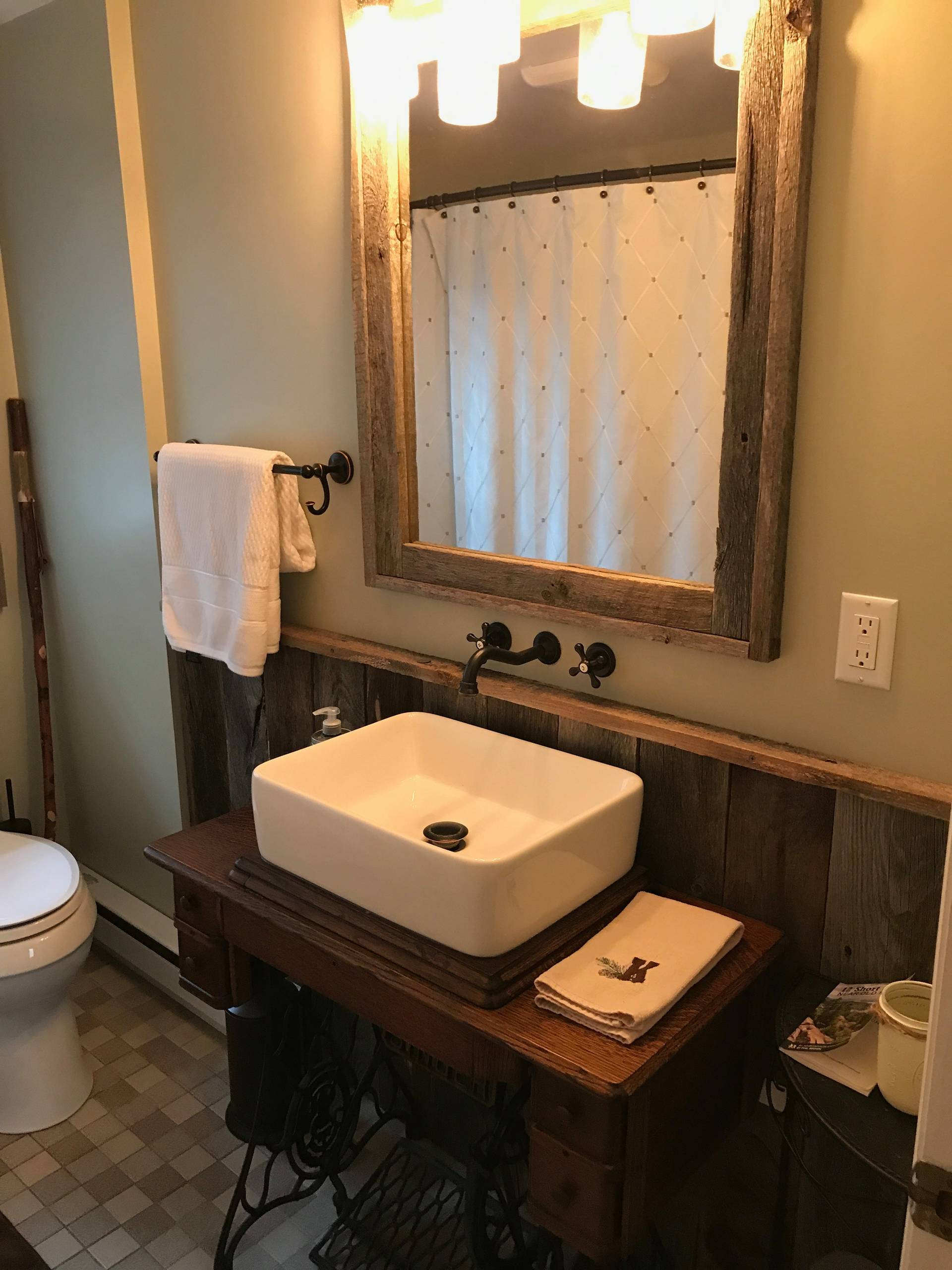 Carrie's Half Bathroom