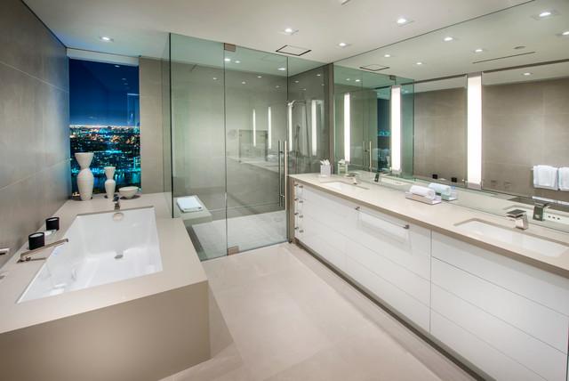 Carrillon penthouse modern bathroom miami by ebl interiors