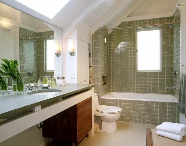Cary Bernstein Architect Eureka Valley Residence transitional-bathroom