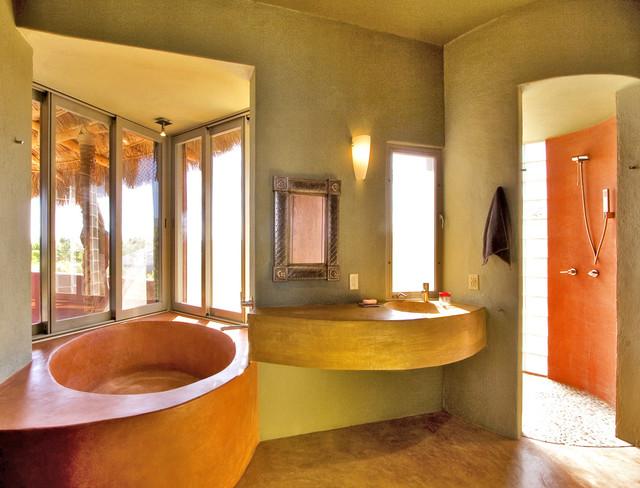 Casa Cabo Pulmo tropical-bathroom