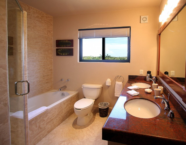 CASA LA VIA - Mexique tropical-bathroom
