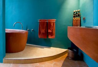 Casa Lluvia Blanca mediterranean bathroom