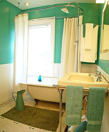 Curtains Ideas clawfoot tub curtain : Do you like showering in a clawfoot tub?