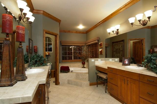Cascade Model Home traditional-bathroom
