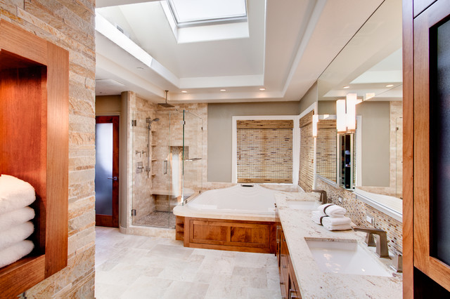 Case Design and Remodeling mediterranean-bathroom