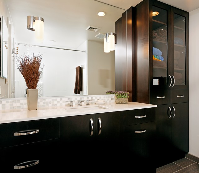 Case Design Remodeling Inc Contemporary Bathroom Hardware