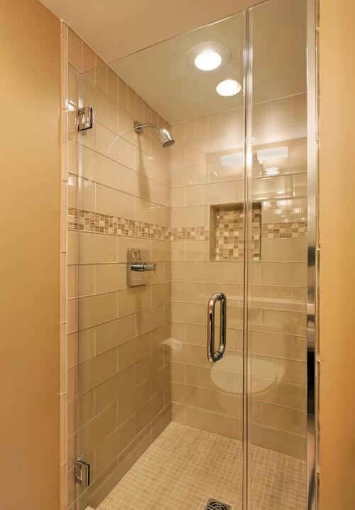 Large Tile In Shower O Pilates - 6x12 subway tile shower