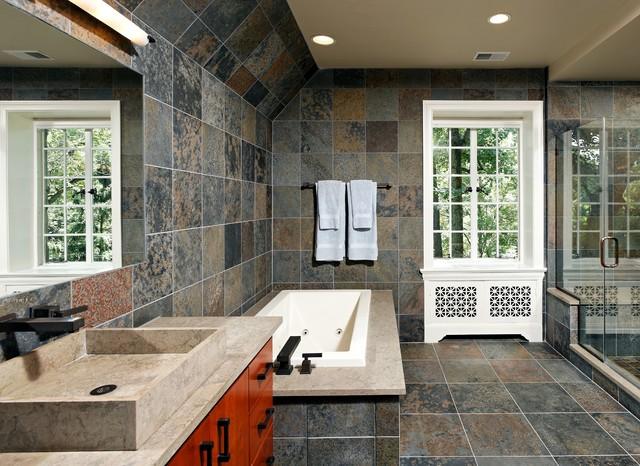 Case Design/Remodeling, Inc. Contemporary Bathroom