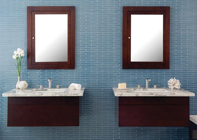 Caspian Blue Bathroom contemporary-bathroom