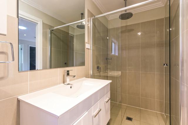 Castle Hill Granny Flat Contemporary Bathroom