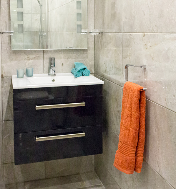 Castleknock apartment traditional bathroom dublin for Bathroom design dublin