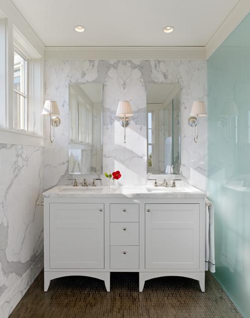 Castro street residence traditional bathroom san for Bathroom remodel 10k