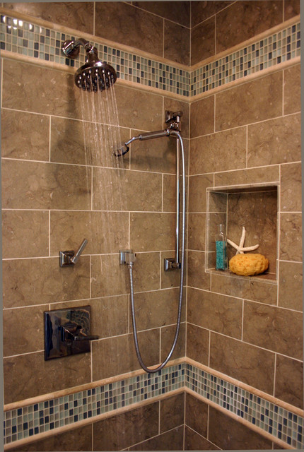 Casual Elegance in the Suburbs traditional-bathroom