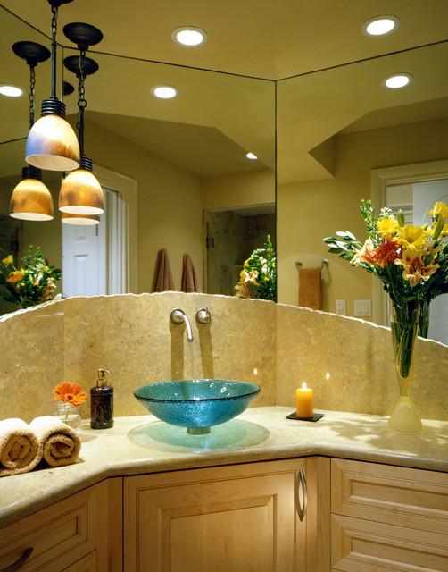 Casual Elegance contemporary-bathroom