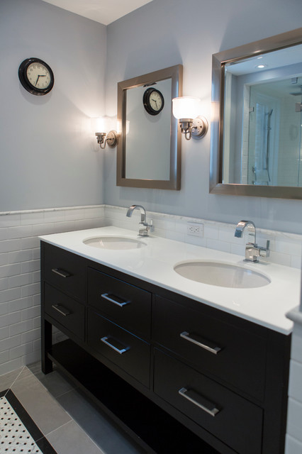 Casual living transitional bathroom toronto by for Casual bathroom ideas