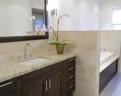 Casual Luxury contemporary-bathroom