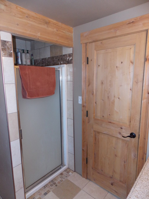Cat Hoarder Remodel traditional-bathroom
