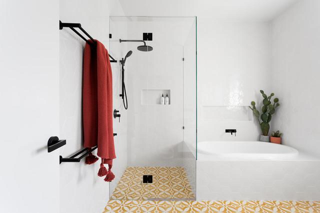 North Caulfield - Bathroom, En Suite & WIR contemporary-bathroom